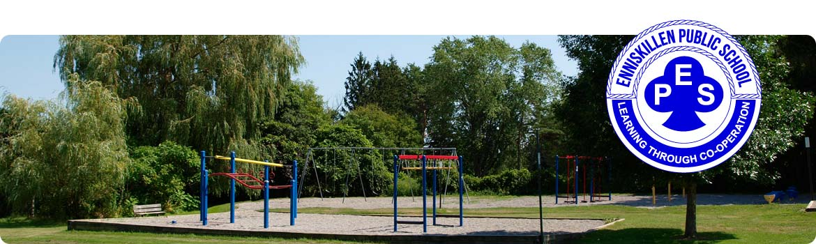 This is a picture of our playground.